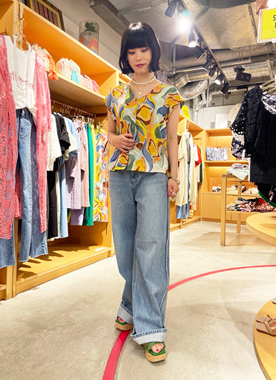 LACExTIERED L/DRESS
